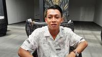 Winger Persib Bandung, Febri Hariyadi. (Bola.com/Erwin Snaz)