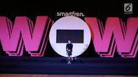 Penyanyi Nicole Zefanya atau Niki saat eksklusif interview di SCTV Tower, Jakarta, Jumat (20/9/2019). Niki akan tampil dalam Smartfren WOW Concert 2019 bertema 'Raih Mimpi Bersama Smartfren' yang akan disiarkan secara langsung oleh SCTV pada malam ini. (Liputan6.com/Heman Zakharia)