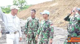 Satgas Kompi Zeni TNI Kontingen Garuda XX-H baru-baru ini selesai membangun lapangan tembak senapan yang akan digunakan sebagai tempat latihan menembak.