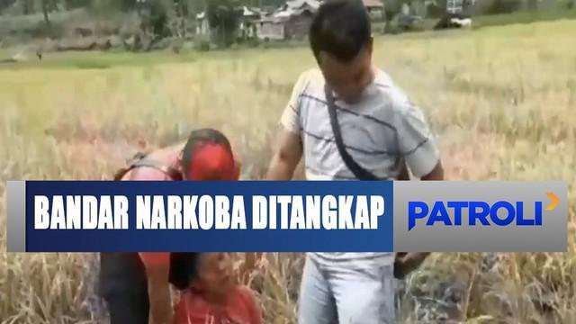 Tersangka Sulaiman Nainggolan merupakan residivis peredaran narkoba di wilayah ini dan telah berulangkali keluar masuk penjara.