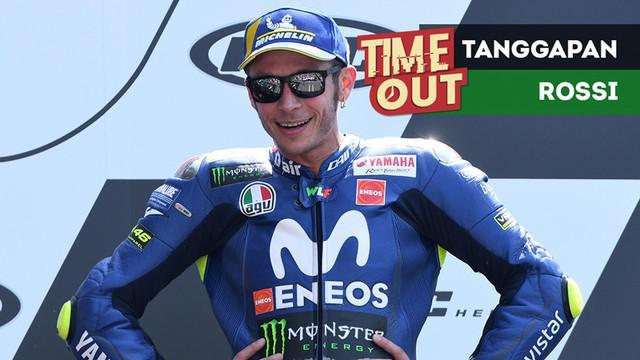 Berita video Time Out kali ini tentang Valentino Rossi yang menanggapi soal puasa kemenangan tim Movistar Yamaha di MotoGP.