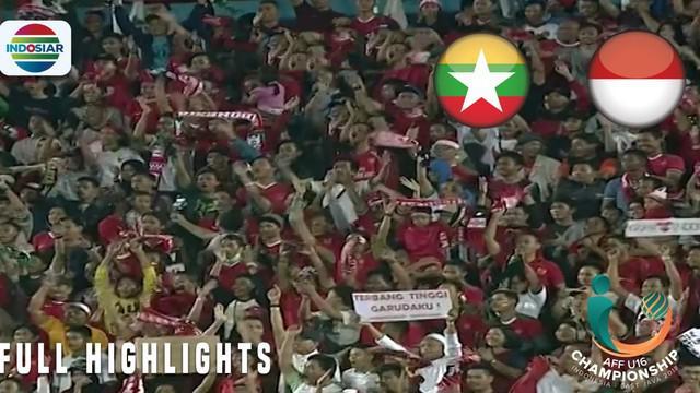 Berita video highlights Piala AFF U-16 2018 antara Myanmar melawan Timnas Indonesia yang berakhir dengan skor 1-2, Selasa (31/7/2018).