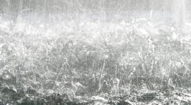 ilustrasi hujan deras.