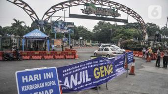 Mulai Hari Ini Ganjil Genap di Jakarta Diperluas Menjadi 13 Ruas Jalan