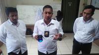 Tim Hiu Satnarkoba Polrestabes Makassar sebelumnya ungkap peredaran narkoba di Pampang, Makassar (Liputan6.com/ Eka Hakim)