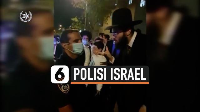 THUMBNAIL POLISI ISRAEL TUTUP SINAGOG