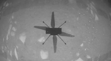 Helikopter NASA di Planet Mars.