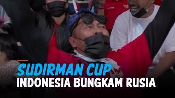 VIDEO: Bulu Tangkis Sudirman Cup 2021, Indonesia Bungkam Rusia 5-0
