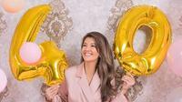 Farah Quinn ultah ke 40 tahun (Instagram/farahquinnofficial)