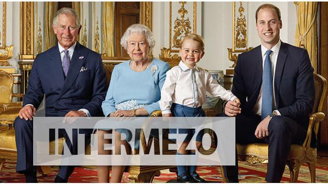 Foto ini diambil sebagai penghormatan untuk ulang tahun Ratu Elizabeth yang tinggal menghitung hari.
