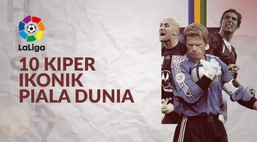 Berita video 10 kiper paling ikonik di Piala Dunia.