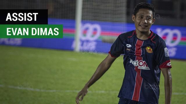 Berita video assist Evan Dimas saat Selangor FA menang 4-1 atas Melaka United di Liga Super Malaysia 2018.