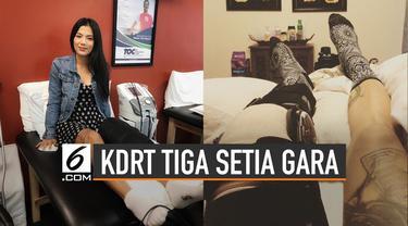Sebelumnya ramai di media sosial tentang KDRT yang dialami Tiga Setia Gara. Rocker asal Indonesia yang bermukim di AS ini mengaku jadi korban KDRT dari sang suami.