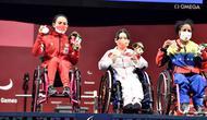 Angkatannya hanya unggul 1 kg dari atlet Venezuela, Fuentes Monasterio yang meraih perunggu. Medali emas direbut atlet asal Cina, Guo Lingling dengan angkatan 108 kg yang juga memecahkan rekor Paralimpiade. (Foto: Dok. NPC Indonesia)