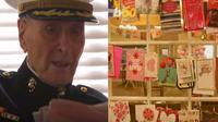 Seorang veteran berusia 104 tahun menerima kejutan dalam hidupnya ketika dia dibanjiri dengan 70.000 surat cinta dari berbagai orang untuk Valentine (www.buzzflare.com.)