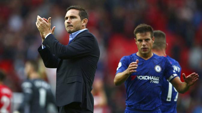 Pelatih Chelsea, Frank Lampard (AP/Dave Thompson)