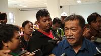 Deddy Mizwar menyesalkan konflik Bobotoh dan Jakmania (Liputan6.com / Panji Prayitno)