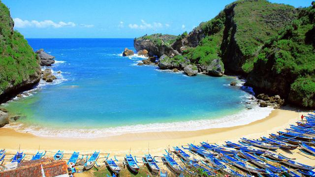 8 Wisata Pantai Gunungkidul Jogja Yang Masih Sepi Pengunjung Rekomended Nih Lifestyle Liputan6 Com