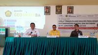 Diklat Pengelolaan Hauling pada Kegiatan Pertambangan Mineral dan Batubara di PT Lematang Coal Lestari, Muara Enim, Sumatera Selatan.
