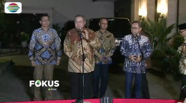 Ketua Umum PAN Zulkifli Hassan bertemu Ketua Umum Partai Demokrat Susilo Bambang Yudhoyono.