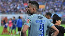 Penyerang Persib Bandung, Wander Luiz. (Bola.com/Iwan Setiawan)