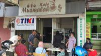 Lokasi Pasar Muamalah di Kelurahan Tanah Baru, Kecamatan Beji, Kota Depok. (Foto:Liputan6/Dicky Agung Prihanto)