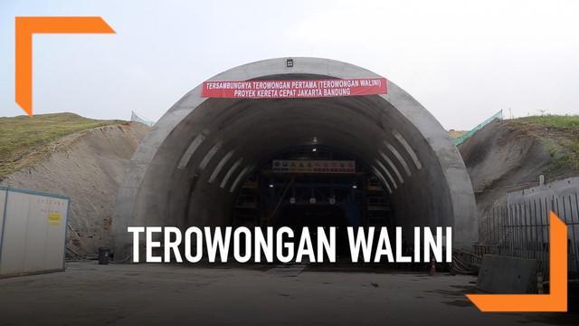 Terowongan Walini jadi terowongan pertama yang berhasil dibuat untuk digunakan kereta cepat Jakarta-Bandung. Sejumlah terowongan lain juga segera rampung dikerjakan.