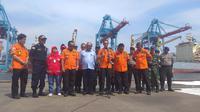 Basarnas menghentikan pencarian korban Lion Air di perairan Karawang, Jawa Barat. (Merdeka.com/ Nur Habibie)
