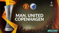 Liga Europa - Manchester United vs Copenhagen. (Bola.com/Dody Iryawan)
