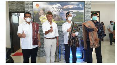 Gubernur Nusa Tenggara Timur (NTT) Viktor Laiskodat di Kupang. Dok PLN
