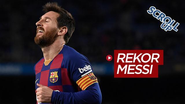 Berita Video Scroll Up membahas Lionel Messi yang meraih 500 Kemenangan saat bersama Barcelona.