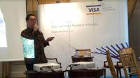 Presiden Direktur PT Visa Worldwide Indonesia, Riko Abdurrahman (Foto:Liputan6.com/Ayu P)