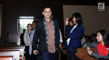 Nazaruddin Jadi Saksi Sidang Lanjutan Andi Narogong