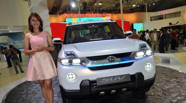 Berikut berbagai mobil-mobil baru dengan harga murah hingga termahal di IIMS 2014, Jakarta, (18/9/14). (Liputan6.com/Miftahul Hayat)