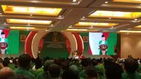 Workshop Nasional Fraksi Partai Persatuan Pembangunan (PPP) DPRD Provinsi dan DPRD Kabupaten/Kota, Jakarta, Sabtu (15/2/2020). (Merdeka.com/ Intan Umbari)
