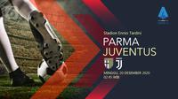 Parma vs Juventus (Liputan6.com/Abdillah)