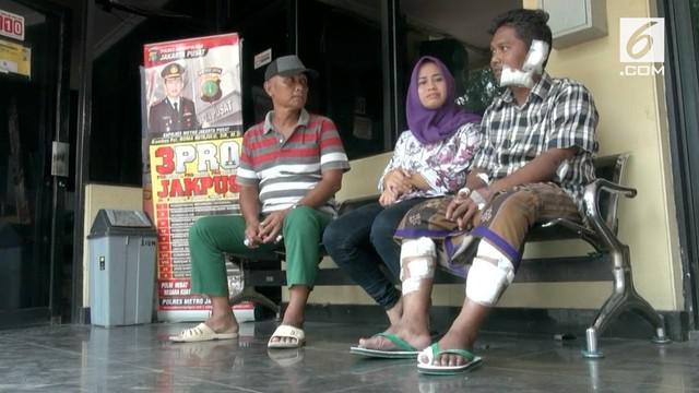 Satpam yang menjadi korban penyerangan anjing pitbull di Jakarta Pusat melaporkan pemilik anjing ke polisi.
