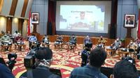 Konferensi Pers Penjelasan UU Cipta Kerja.