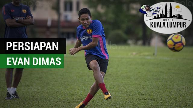 Berita video latihan persiapan Evan Dimas dan Ilham Udin Armaiyn jelang laga penting bersama Selangor FA di Liga Super Malaysia 2018.