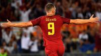 3. Edin Dzeko (AS Roma) - 6 Gol. (AFP/Alberto Pizzoli)