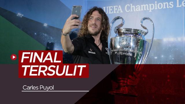 Berita video wawancara eksklusif bersama Carles Puyol dalam acara UEFA Champions League Trophy Tour 2019 presented by Heineken di Surabaya.