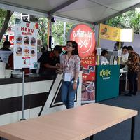 Suasana Jakarta Eat Festival 2019 di Gandaria City, Jakarta. | Karla Farhana/Fimela.com