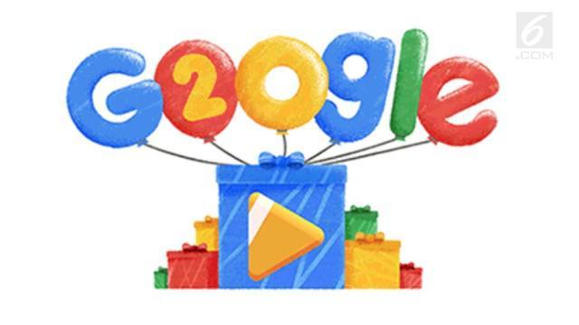 Google merayakan hari jadinya yang ke-20 tahun pada hari ini, Kamis (27/9). Ulang tahun raksasa teknologi asal Amerika Serikat (AS) itu juga dirayakan dalam animasi penuh warna di laman Google Doodle.