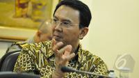 Gubernur DKI Jakarta Basuki Tjahaja Purnama (Ahok) (Liputan6.com/Faizal Fanani)