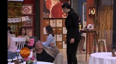 Kalina Ocktaranny memergoki Vicky Prasetyo yang sedang merayu Celine Evangelista