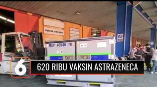 VIDEO: Kerjasama dengan Pemerintah Inggris, Indonesia Terima 620 Ribu Vaksin AstraZeneca