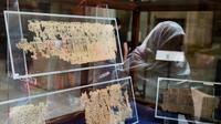 Temuan catatan papirus tentang para buruh tersebut diduga akan mengungkapkan lebih banyak tentang rahasia Piramida Agung di Giza. (Sumber Xinhua)