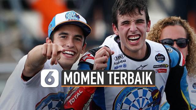 Marc Marquez ungkapkan momen terbaik selama di MotoGP. Debutnya di MotoGP dimulai sejak tahun 2013.