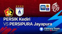 Liga 1 : Persik Kediri vs Persipura Jayapura