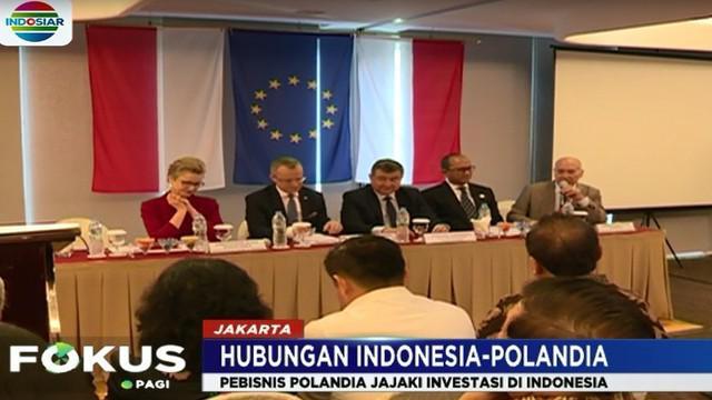 Duta besar RI untuk Polandia Peter F. Gontha mengatakan para pengusaha Polandia ini siap menjajaki investasi dan hubungan dagang dengan pengusaha Indonesia.